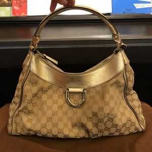 Auth Pre-owned GUCCI Hobo shoulder bag